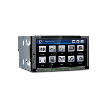 "Radio DVD GPS Xtrons 2Din LCD 6,95"" HD Bluetooth USB SD"