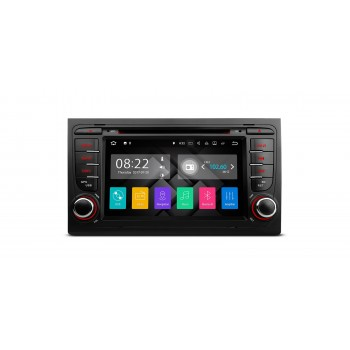 "RADIO DVD GPS LCD TACTIL 7"" PARA AUDI A4 SEAT EXEO CON HDMI ANDROID 7.1"