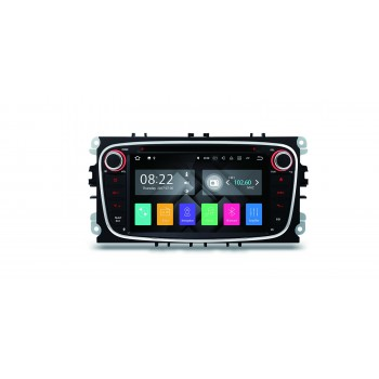 "Radio DVD GPS LCD táctil 7"" con Android 7.1 para Ford Focus Mondeo..."