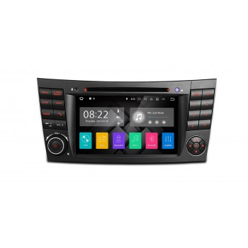 Radio GPS para Mercedes Benz Clase E W211 y CLS W219 con Android 7.1 Canbus HDMI