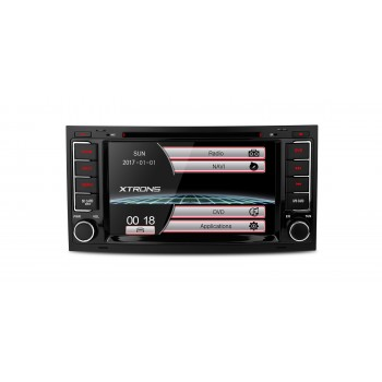 Radio DVD GPS para VW Touareg 2004-2011 Canbus Bluetooth SD USB