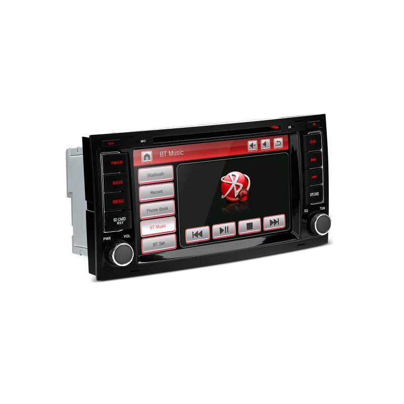 radio dvd gps para vw touareg 2004 2011 canbus bluetooth. Black Bedroom Furniture Sets. Home Design Ideas