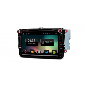 "Radio DVD GPS para VW SEAT y SKODA ANDROID 7.1 WIFI CANBUS LCD 8"" TÁCTIL"