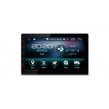 """Radio GPS Universal con Android 6.0 LCD 10,1"""" Táctil Bluetooth Wifi"""