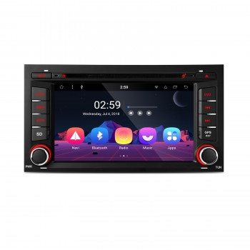 "RADIO DVD GPS Android 8.1 Seat Leon 3 Bluetooth Wifi Canbus LCD Táctil 7"" 4k"