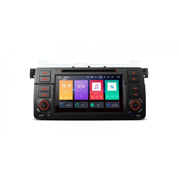 "RADIO DVD GPS LCD TACTIL 7"" para BMW SERIE 3 E46 ANDROID 8.0 4Gb RAM"