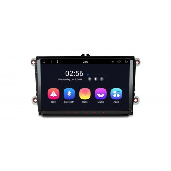 "RADIO GPS Android 8.1 Seat VW Skoda LCD Táctil 9"" GPS BLUETOOTH WIFI"