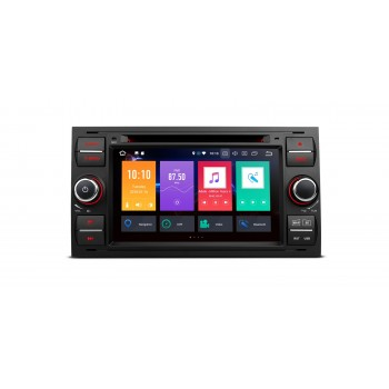 "RADIO DVD GPS LCD TACTIL 7"" Negro Ford ANDROID 8.0 4Gb RAM Focus Cmax Smax..."