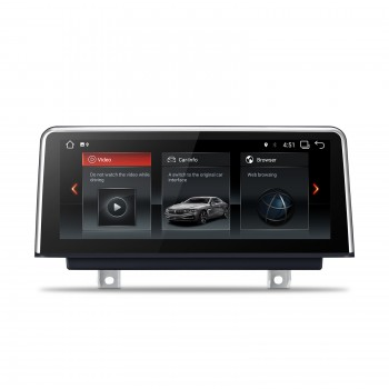"Navegador GPS para BMW Serie 3 y Serie 4 LCD 10,25"" táctil Android Canbus"