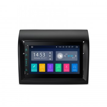 """Navegador GPS Fiat Ducato Android 8.1 con CarPlay Canbus Full RCA LCD 7"""" táctil"""