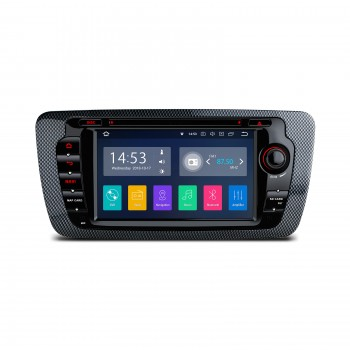 "Radio DVD GPS LCD táctil 7"" CanBus Seat Ibiza 6J MK4 2009-2013 con Android 7.1"