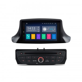 Radio DVD GPS para Renault Megane III y Fluence con Android 8.1 CarPlay