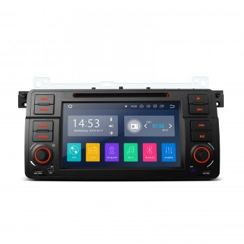 "Navegador GPS LCD Táctil 7"" BMW SERIE 3 E46 Android 8.1 CarPlay"