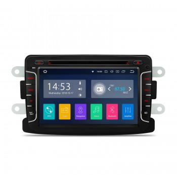 Navegador GPS Dacia Duster Dokker Logan Sandero Lodgy Renault Captur Android 8.1 Carplay
