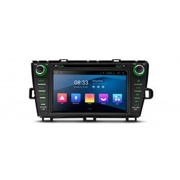 "Navegador Toyota Prius Android 8.1 Canbus Lcd táctil 8"" Bluetotoh Full RCA"