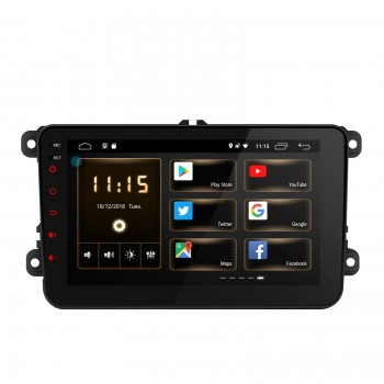 "Navegador Volkswagen Seat y Skoda Android Android 8.1 LCD 8"" Táctil"