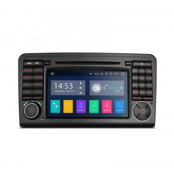 Navegador Mercedes ML W164 y GL X164 Android 8.1 Canbus