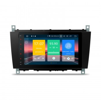 "Navegador LCD 8"" Mercedes Benz Clase C W203 G W209 y CLK Android 9.0"