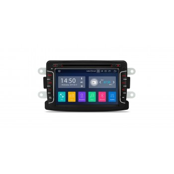 Navegador GPS Dacia Duster Dokker Logan Sandero Lodgy Renault Captur Android 9.0 Carplay