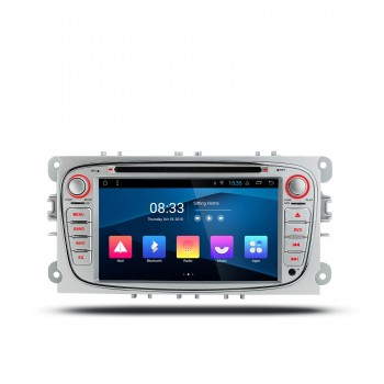 "NAVEGADOR GPS Gris 7"" para Ford Focus Mondeo...Android 8.1 Canbus"