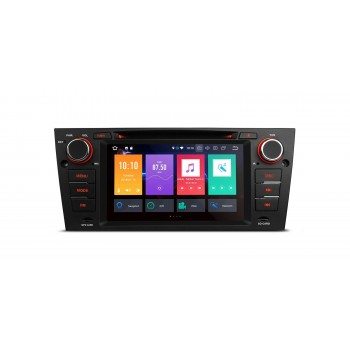 "Radio DVD GPS BMW Serie 3 E90 Android 8.1 LCD 7"" 4Gb RAM y CarPlay"