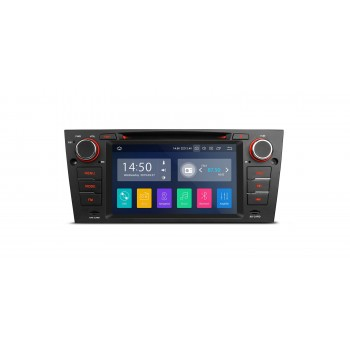 "Radio DVD GPS BMW Serie 3 E90 Android 9.0 LCD 7"" Full RCA y CarPlay"
