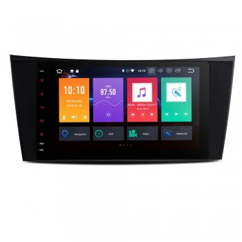 """Navegador LCD 8"""" Mercedes Benz Clase E W211 y CLS W219 Android 9.0 4Gb RAM con CarPlay"""