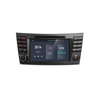Navegador GPS para Mercedes Benz Clase E W211 y CLS W219 Android 9.0 4Gb RAM HDMI 4k