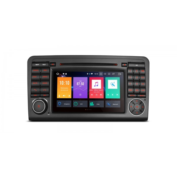 Navegador Mercedes ML W164 y GL X164 Android 9.0 4Gb Ram CarPlay