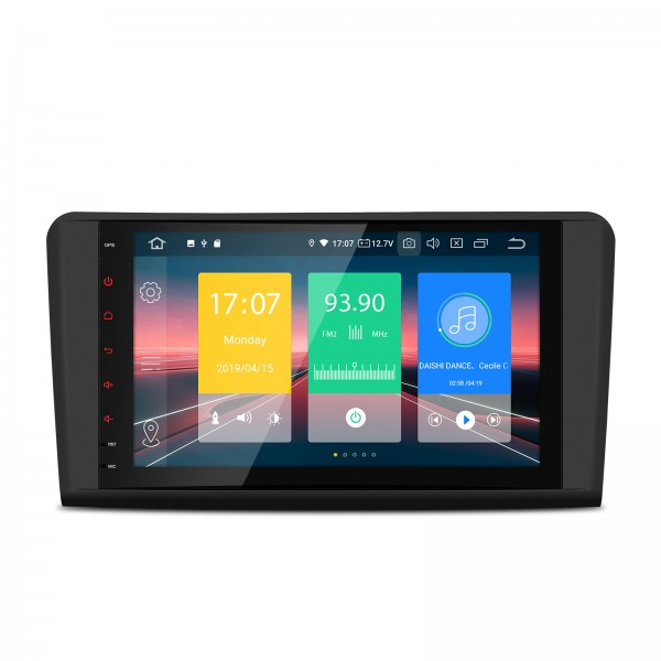 """Navegador Mercedes ML W164 y GL X164 Android 9.0 LCD 9"""" Canbus"""