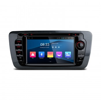 "Navegador GPS Android 8.1 Seat Ibiza Mk4 6J LCD Táctil 7"" Bluetooth Wifi Canbus"