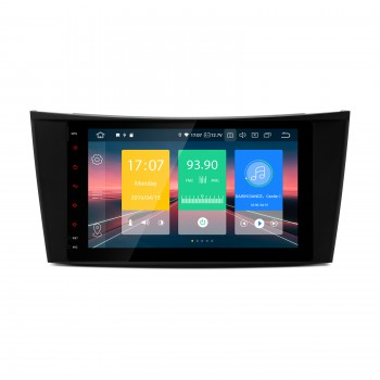 "Navegador LCD 8"" Mercedes Benz Clase E W211 y CLS W219 Android 9.0 CarPlay"