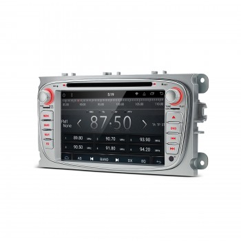 "RADIO DVD GPS LCD TÁCTIL 7"" gris Ford Focus Mondeo...ANDROID 8.1 Octa Core"
