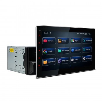 "Pantalla Táctil 2Din 10"" Universal con GPS Android 10 Bluetooth y USB"