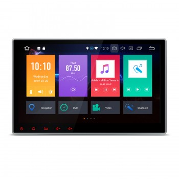 "Pantalla GPS 2DIN Android 9.0 LCD 10,1"" DPI 4Gb RAM 64Gb ROM CarPlay"