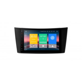 """Navegador 8"""" Mercedes Benz Clase E W211 y CLS W219 Android 9.0"""