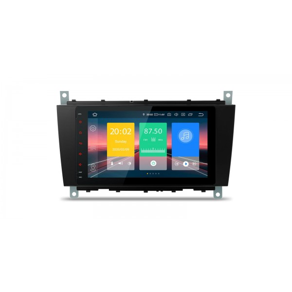 """Navegador LCD 8"""" Mercedes Benz Clase C W203 G W209 y CLK Android 9.0"""