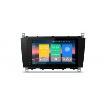 "Navegador LCD 8"" Mercedes Benz Clase C W203 G W209 y CLK Android 10"