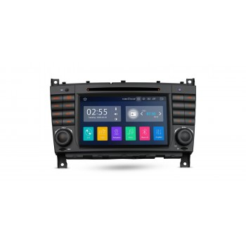 "Navegador LCD 7"" Mercedes Benz Clase C W203 G W209 y CLK Android 10"