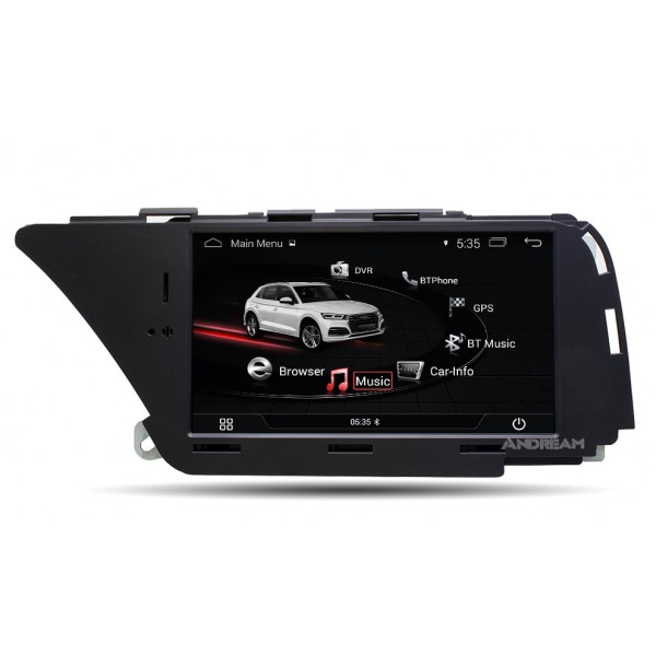 """Navegador 7"""" Audi A4 B8 A5 Q5 con Android 9.0 Bluetooth Wifi Canbus"""