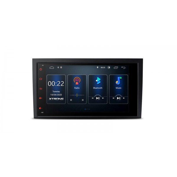 "Navegador GPS LCD Táctil 8"" 4K Audi A4 Seat Exeo Android 10 Bluetooth Canbus"