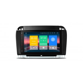 Navegador GPS Mercedes Benz Clase S W220 Android 10 CarPlay Bluetooth