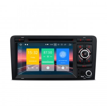"Radio Especifico AUDI A3 Navegador LCD TÁCTIL 7""  8P Android 9.0 Wifi Dual Zone"