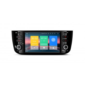 "Navegador Fiat Punto Linea LCD Táctil 6,1"" Android 10 Bluetooth Wifi"