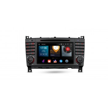 Navegador GPS Mercedes Benz Clase C W203 G W209 y CLK Android 10