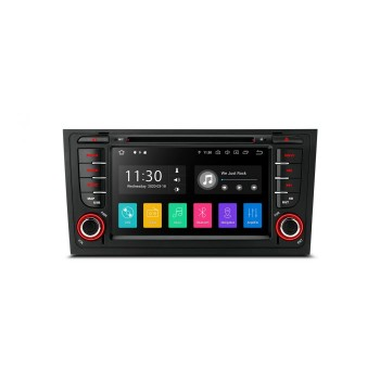 "Radio Especifico AUDI A6 Navegador GPS LCD Táctil 7"" FULL HD ANDROID 10"