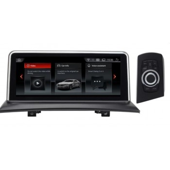 """Navegador LCD 10,25"""" IPS BMW X3 E83 con IDrive Android 9.0 4Gb RAM"""