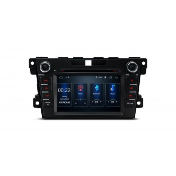 "Radio Especifico Mazda CX-7 Android 10, Tactil 7"",Bluetooth, Wifi, Mandos de volante"