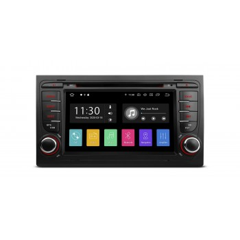 "Radio Especifico Audi A4, Seat Exeo, Pantalla 7"" Tactil, Android 10, GPS, WIFI, Bluetooth"