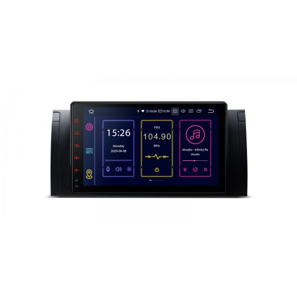 "Radio Especifico BMW X5 E53 Pantalla Tactil 9"" Android 10, GPS, Bluetooth"